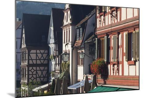 Germany, Baden-Wurttemburg, Black Forest, Gengenbach, Town Buildings-Walter Bibikow-Mounted Photographic Print