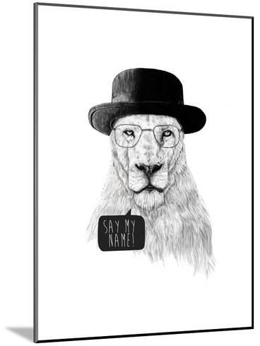 Say My Name-Balazs Solti-Mounted Giclee Print