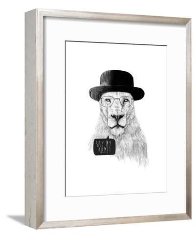 Say My Name-Balazs Solti-Framed Art Print