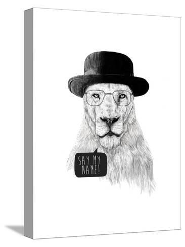 Say My Name-Balazs Solti-Stretched Canvas Print