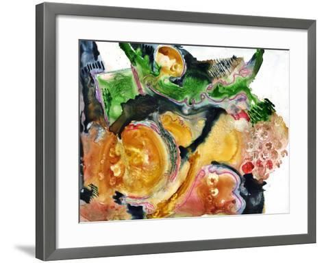 Abstract WC-Blenda Tyvoll-Framed Art Print