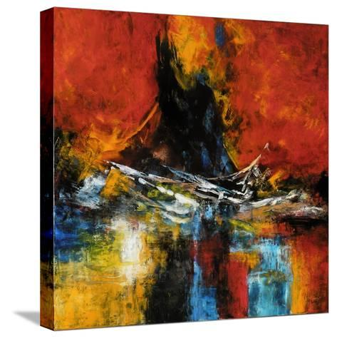 The Restless Sea-Aleta Pippin-Stretched Canvas Print
