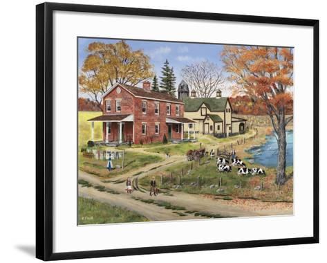 Off to School-Bob Fair-Framed Art Print