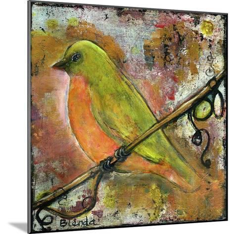 Peridot Bird-Blenda Tyvoll-Mounted Giclee Print