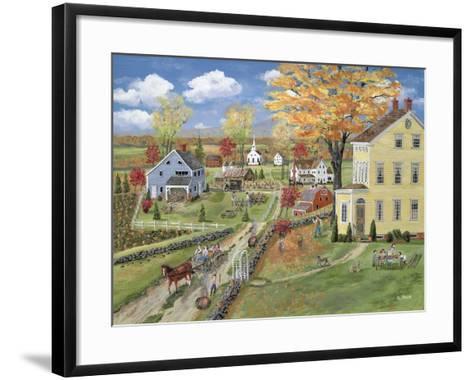 Autumn Chores-Bob Fair-Framed Art Print