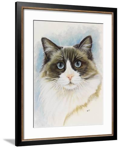 Ragdoll-Barbara Keith-Framed Art Print