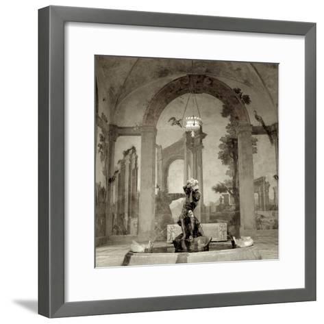 Lombardy Giardini I-Alan Blaustein-Framed Art Print