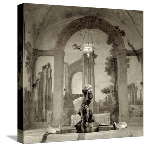 Lombardy Giardini I-Alan Blaustein-Stretched Canvas Print