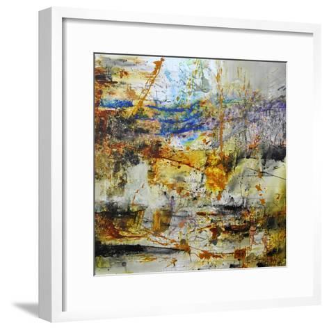 Blue Rising-Aleta Pippin-Framed Art Print