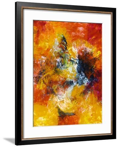 Lovers Embrace-Aleta Pippin-Framed Art Print