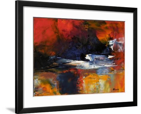 Reaching Land-Aleta Pippin-Framed Art Print