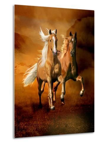 Dream Horses 075-Bob Langrish-Metal Print