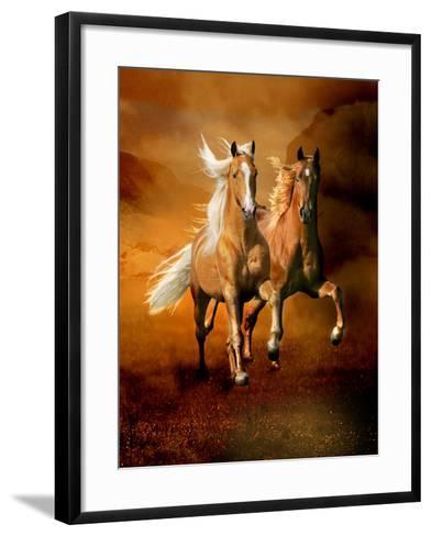 Dream Horses 075-Bob Langrish-Framed Art Print