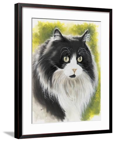 Maine Coon-Barbara Keith-Framed Art Print