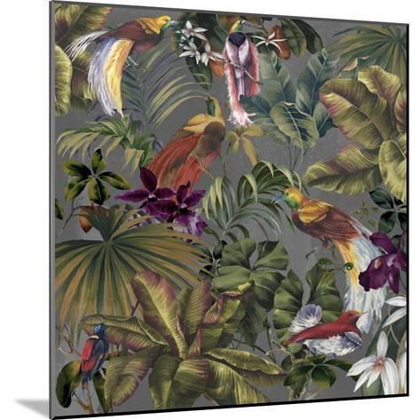 Bird Paradise Neutral-Bill Jackson-Mounted Giclee Print