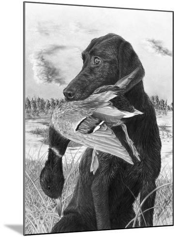 Man's Best Friend-Chuck Black-Mounted Giclee Print