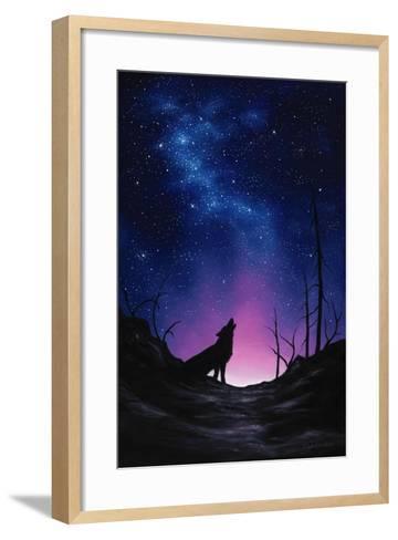 Starry Nights-Chuck Black-Framed Art Print