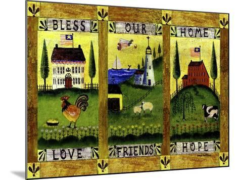 Bless our Home Love Friends Hope Lang-Cheryl Bartley-Mounted Giclee Print