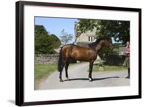 Church Farm UK 006-Bob Langrish-Framed Art Print