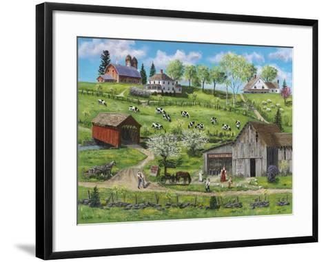 Buttermilk Farm-Bob Fair-Framed Art Print