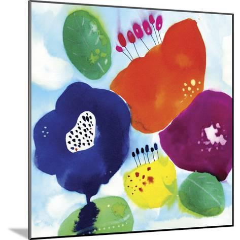 Big Water Flowers-Cayena Blanca-Mounted Giclee Print