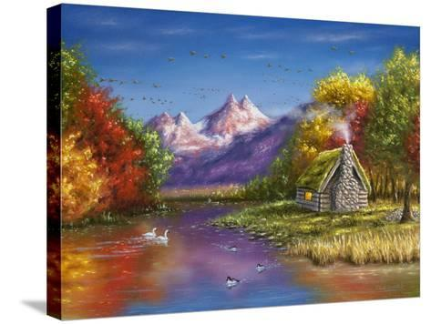 Autumn's Perfection-Chuck Black-Stretched Canvas Print