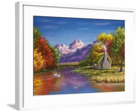 Autumn's Perfection-Chuck Black-Framed Art Print