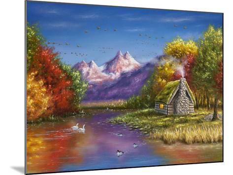 Autumn's Perfection-Chuck Black-Mounted Giclee Print