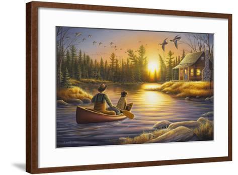 Best Friends Forever-Chuck Black-Framed Art Print