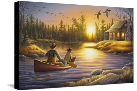 Best Friends Forever-Chuck Black-Stretched Canvas Print