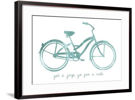 Bike 1-Erin Clark-Framed Art Print