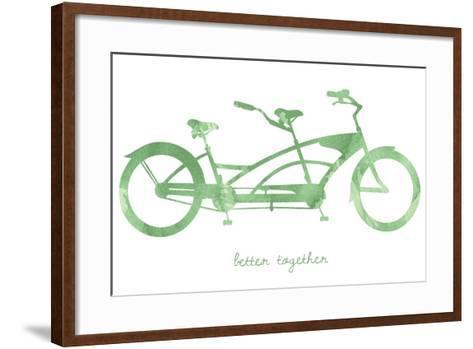 Bike 3-Erin Clark-Framed Art Print