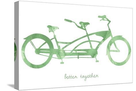 Bike 3-Erin Clark-Stretched Canvas Print