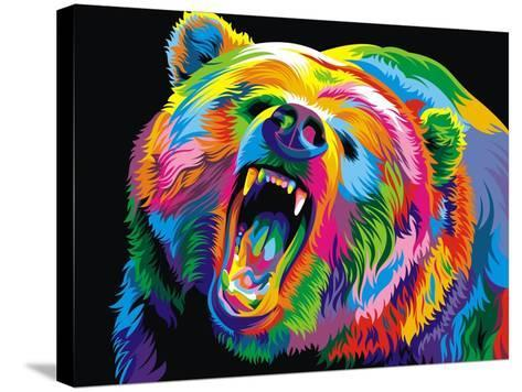 Bear-Bob Weer-Stretched Canvas Print