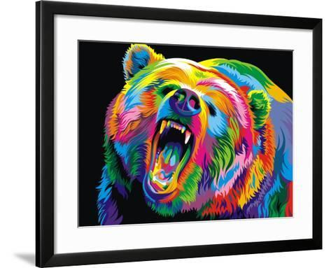 Bear-Bob Weer-Framed Art Print
