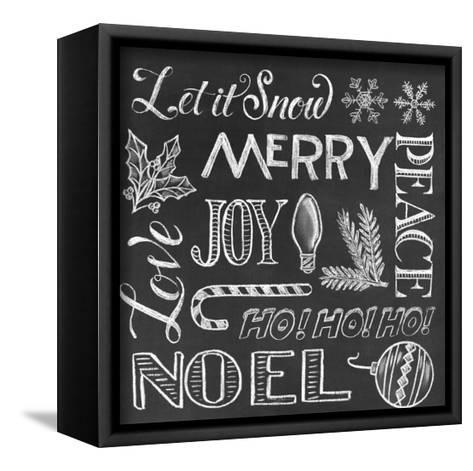 Christmas Wrap 1-CJ Hughes-Framed Canvas Print
