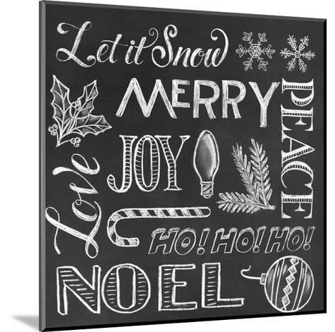 Christmas Wrap 1-CJ Hughes-Mounted Giclee Print