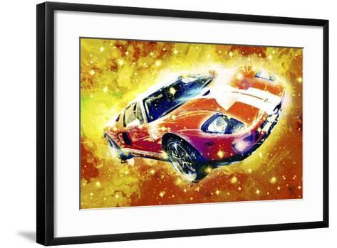 Classic Car Ford GT V-Fernando Palma-Framed Art Print