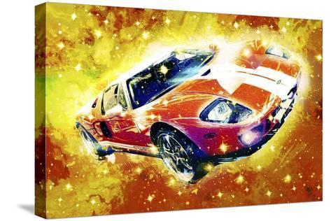 Classic Car Ford GT V-Fernando Palma-Stretched Canvas Print