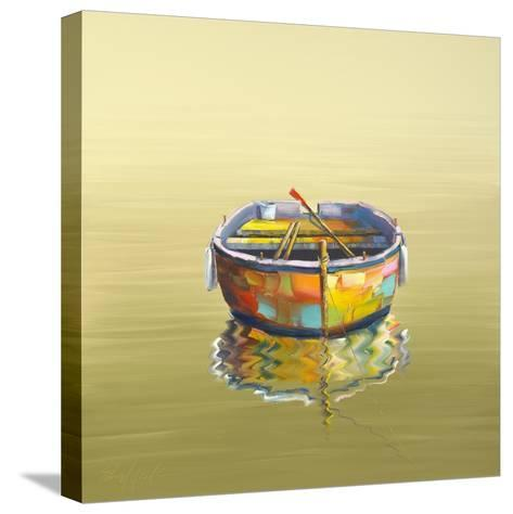 1 Boat Yellow-Edward Park-Stretched Canvas Print