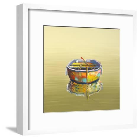 1 Boat Yellow-Edward Park-Framed Art Print