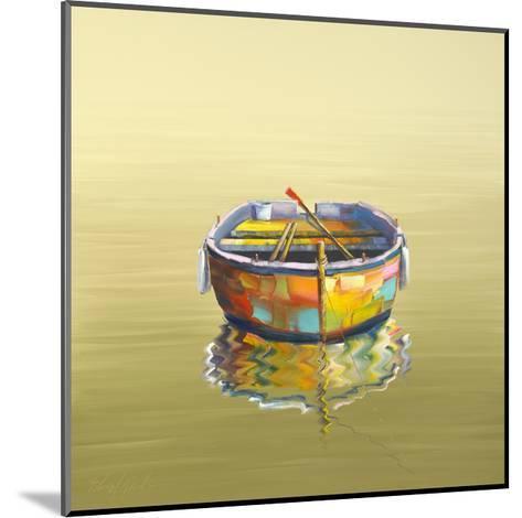 1 Boat Yellow-Edward Park-Mounted Giclee Print