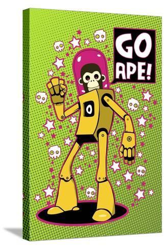 Go Ape-Craig Snodgrass-Stretched Canvas Print