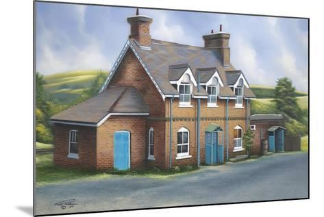 Old Burghclere Station-Geno Peoples-Mounted Giclee Print