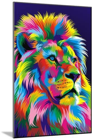 Lion New-Bob Weer-Mounted Giclee Print