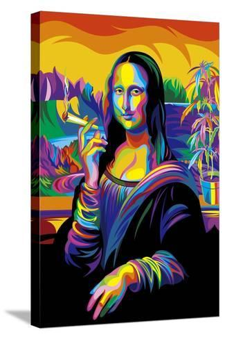 Mona Lisa-Bob Weer-Stretched Canvas Print