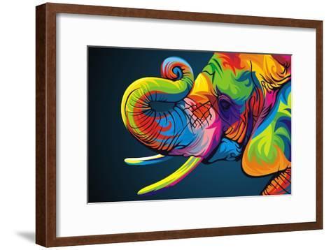 Elephant-Bob Weer-Framed Art Print