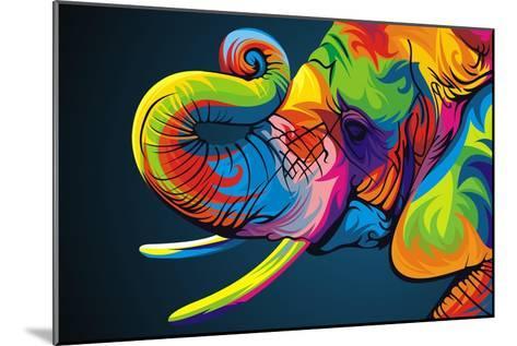 Elephant-Bob Weer-Mounted Giclee Print