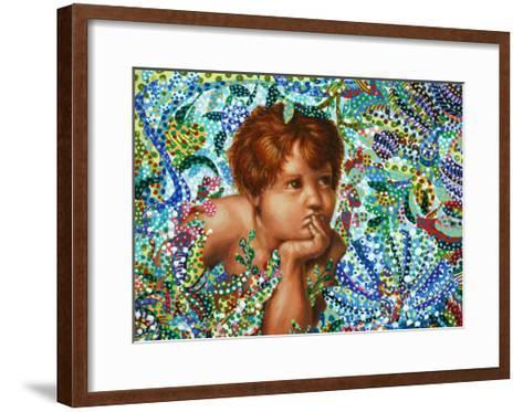 Cherub-Erika Pochybova-Framed Art Print