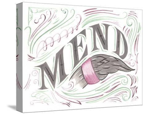 Mend-CJ Hughes-Stretched Canvas Print